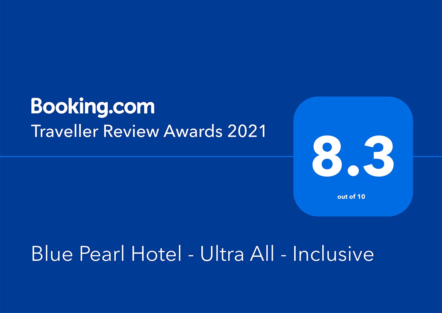 Guest Review Awards 2021